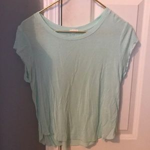 Garage Super soft Relaxed Tee - Mint green